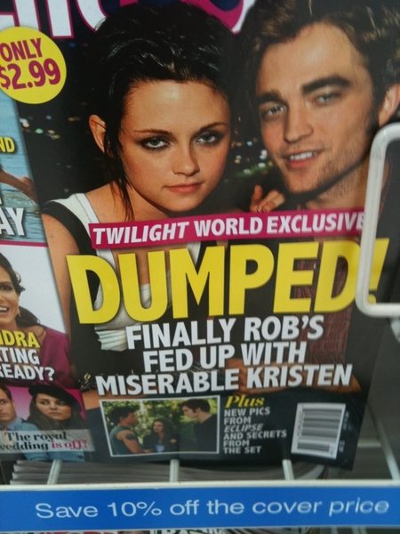 They are breaking up?  Wait! I'm so confused!!