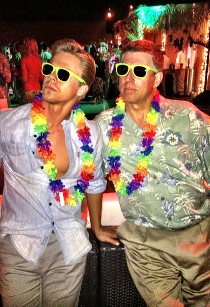 Yeah but does he rock a shirt and shades like this ? RT @JasonKennedy1 I&#039;m pretty sure my dad is stronger than yours.