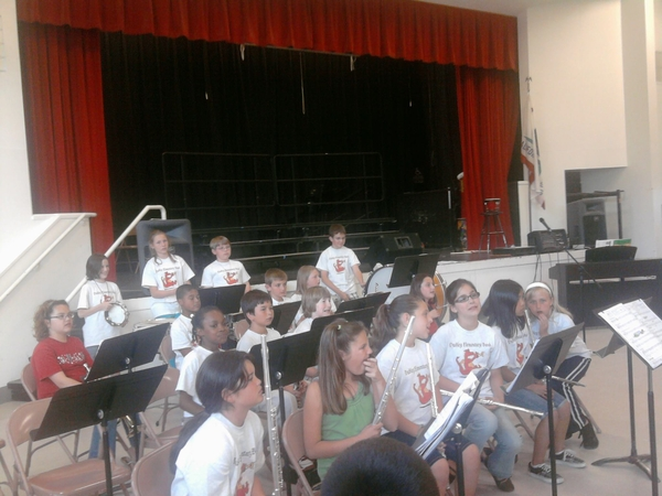 No. 3 in the Dudley Elementary Band