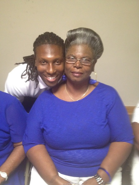 Me and my grandmother.                     #happybirthday
