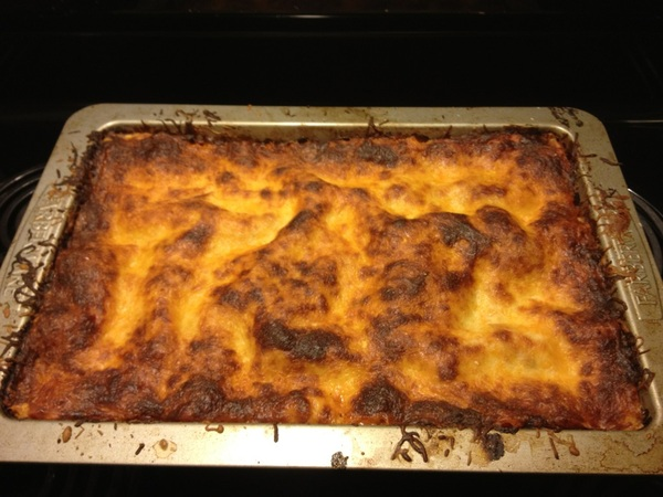 Six cheese lasagna-ey goodness