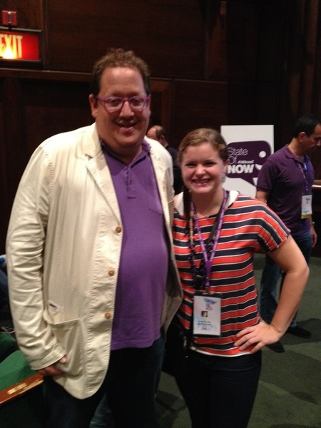 . @jeffpulver and @haileytemple at #140conf2012