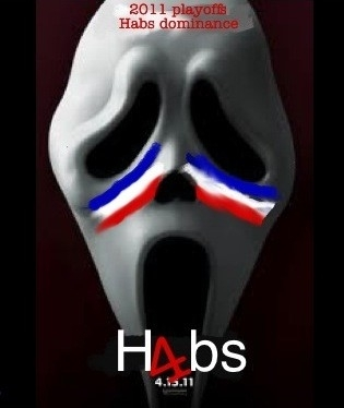 @BrentSopel check this new movie poster inspired by Habs #Scream4 #nhl #Habs