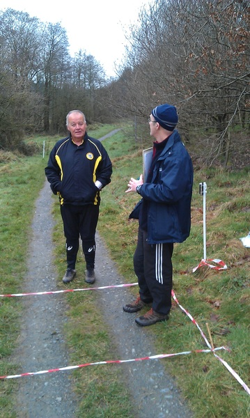 Patchy data signal @ #orienteering in Rossmore Forest so waited for WiFi