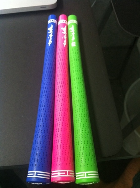 Lots of responses about the grips. They're pretty awesome! Thanks again to @puregrips