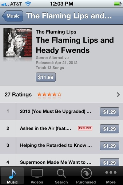 Go to iTunes !!! Heady Fwends digital is out mitherfuckers!!!!