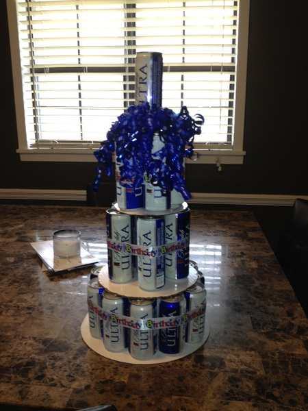 Happy birthday to my baby! #michelob #birthdaycake