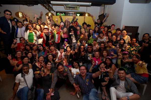 80's party at TBWA\TEQUILA