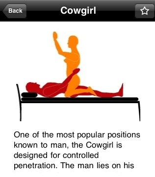 What is the cowgirl position