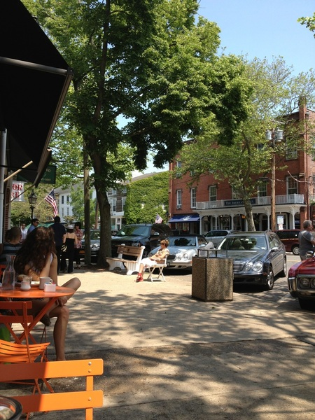 Sitting in sag harbor watching life on main street. Stop. Look around and breathe it all in. Life 2012.