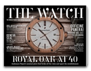 app-etiser | The Watch Magazine | issue 2 out now, celebrating 40 years of the iconic Royal Oak http://bit.ly/KPeM18