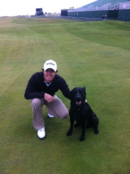 Made a new friend at Royal St Georges today!!