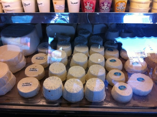 Tijuana mkt: I am wild about Produmex cheese stall. Most of Mexico&#039;s best cheeses can be found here!