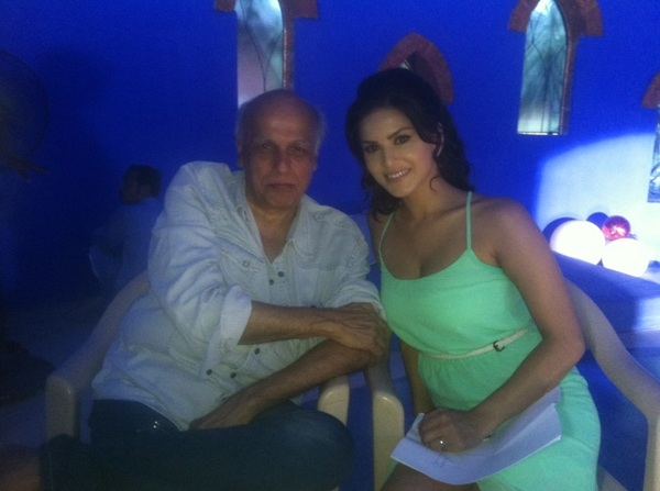 me and Mr @MaheshNBhatt Ji
