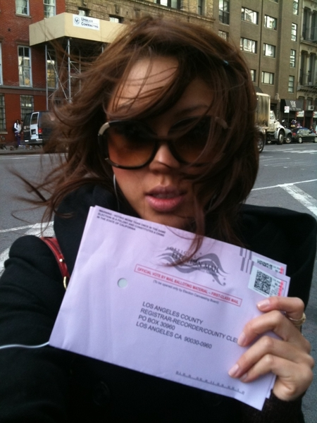 who else has already voted?! #electionday snap a pic & spread it!