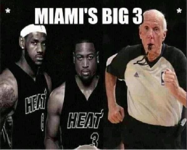 #NBAfinals Este si es el Verdadero &quot;Big 3&quot;!!