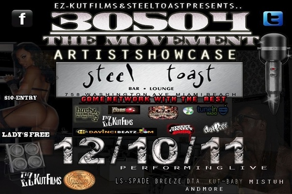 Rt #30504 @ezkutfilms Artist#IndustryMixer12/10/11 @SteelToast 758washingtonAveMiaBeach ~ http://j.mp/sOVtr7