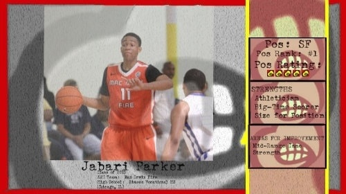 "Interview with #UofL target Jabari Parker will air this morning @8 on""Good Morning America"" (ABC). http://t.co/fU3xGBYL"