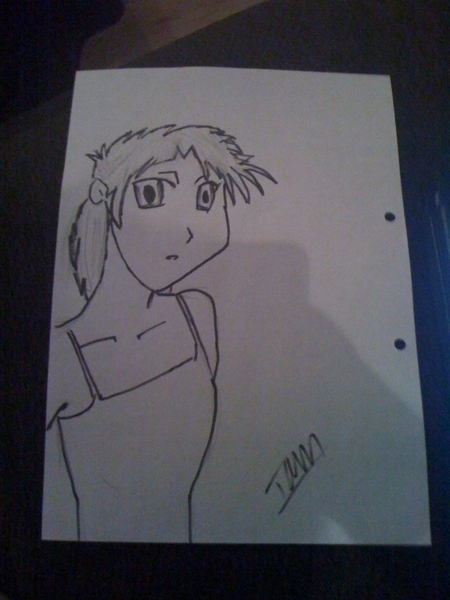 Anime character no. 3 #anime #drawing