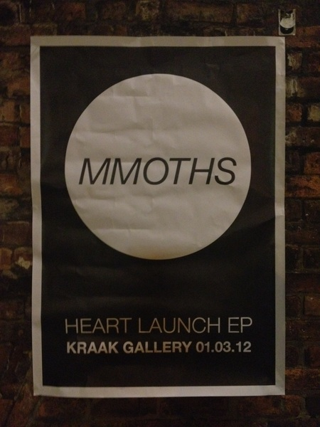 Now @kraakgallery for Mmoths EP launch. Come to early though said the actress to the bishop. #quiet