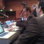 @wouterblok Front Row with nice guys from @orangevalley, @edwords and others #ses #sesa