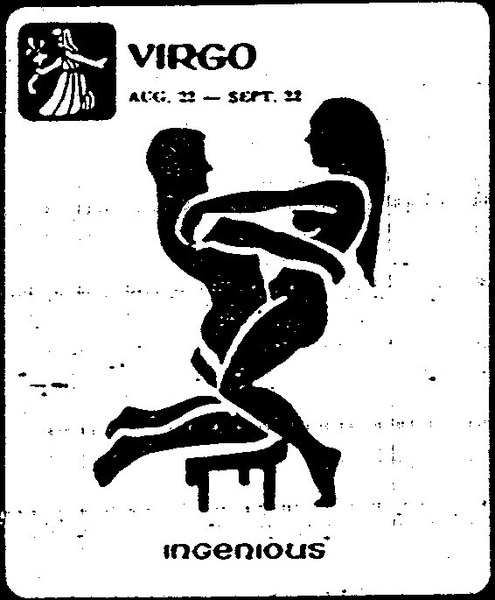 Virgo: Aug 23 - Sep 22 ''Ingenius'' (Posisi Sex Sesuai Zodiak)