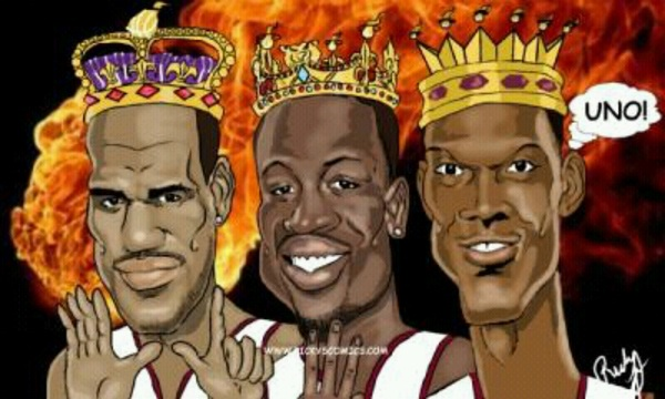 Congratulations to the big 3 & the #Heat tonight! #NBAFinals #TheBig3 #HeatChampions