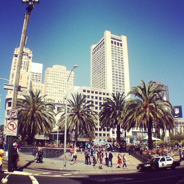 Union Square #sanfrancisco