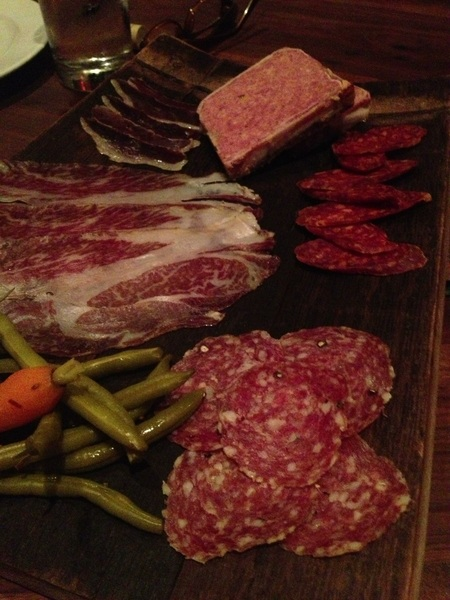 "Unexpected day n Houston: got to eat at Underbelly! Gr8 whole-animal cooking/charcuterie.Cured Wagyu ""collar""=AMAZING"