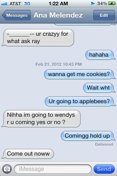 so demanding haha. She was hungry though 