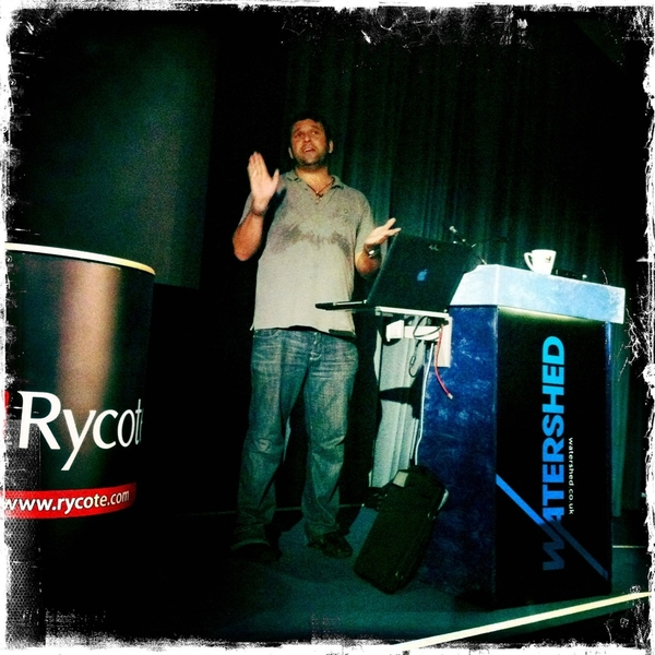 At the Canon &amp; Rycote audio day with @PhilipBloom in full flow; rather interesting actually.