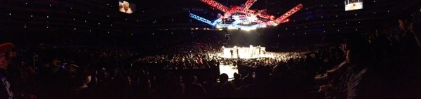 A pretty cool pano from #UFC Japan. One of the coolest events I have ever been to.