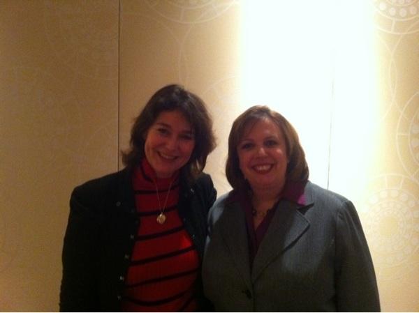 Katie Lance en Jannetta Dorsman op Real Estate Connect New York 2012