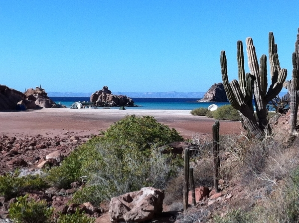 Hi-lites of Baja TV Scout: Espiritu Santo biosphere near La Paz where we&#039;ll buy fish and cook on the beach
