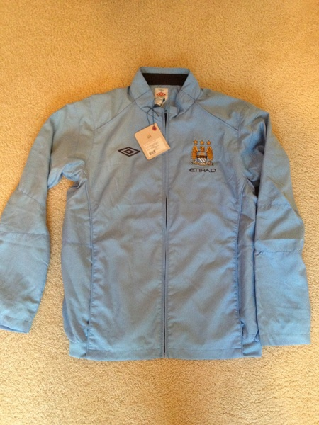 @SwapOfTheTable Man City Lg Umbro Game Day Jacket BNWT #swapofthetable #kitnerd