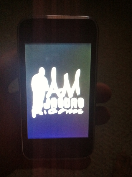 I luv puttin my logo instead of the apple logo on niggaz iphones lol