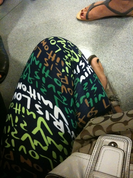 Love my leggins LV <3