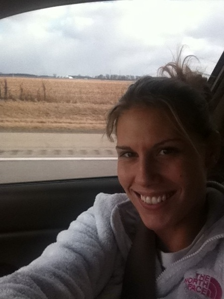 Pittsburgh here I come!!! A few hours out!!! In the farmlands of ohio!!!