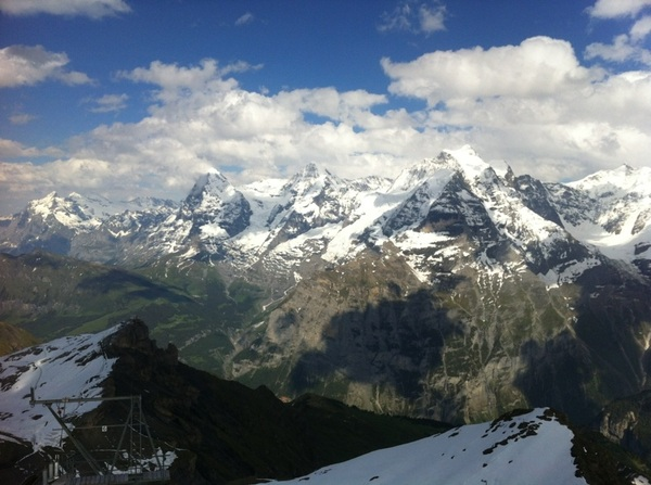 Made it! #swissalps