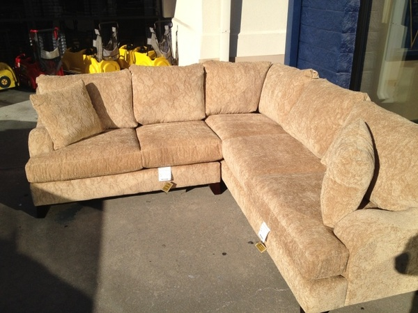 Mack left early so we are sneaking out the photos of the great Black Friday deals! This sectional is 50% off now $799