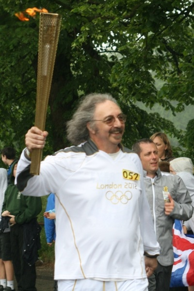 Day off to watch #olympics #torchrelay #2012 #knutsford