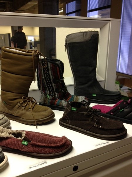 Post-Deckers acquisition, @SanukFootwear adding boots & fake shearling for fall