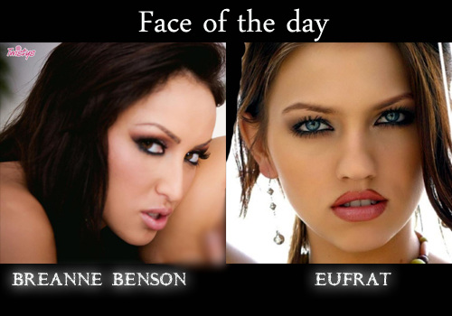 @BREANNEBENSON & @ItsEufratXXX are our #FaceOfTheDay #FF both & us for more update (by: @hs4uBOOKSIE )
