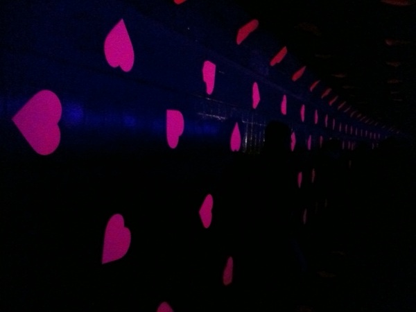 Tunnel of love. #glow11