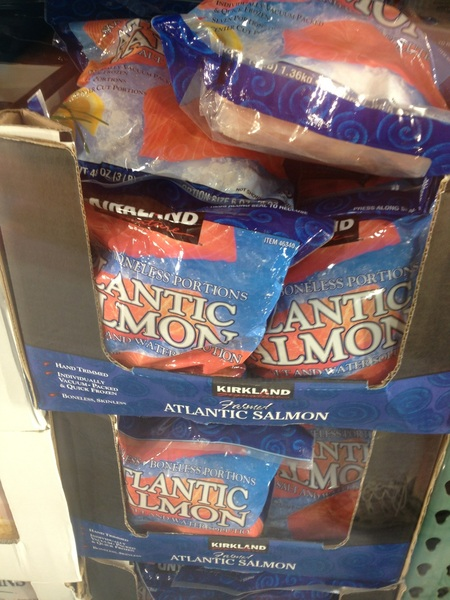Damn you #Anchorage #Costco Don&#039;t you know this IS ALASKA! #salmon