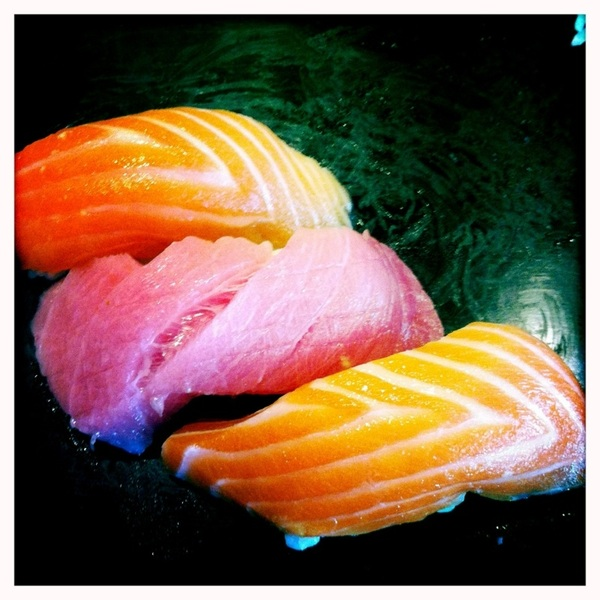 Perks of LA and a weekend off, good sushi!