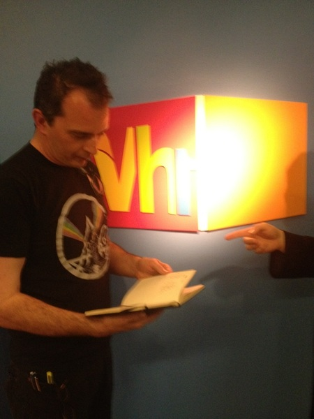 Meeting with weirdo minds at Vh1...