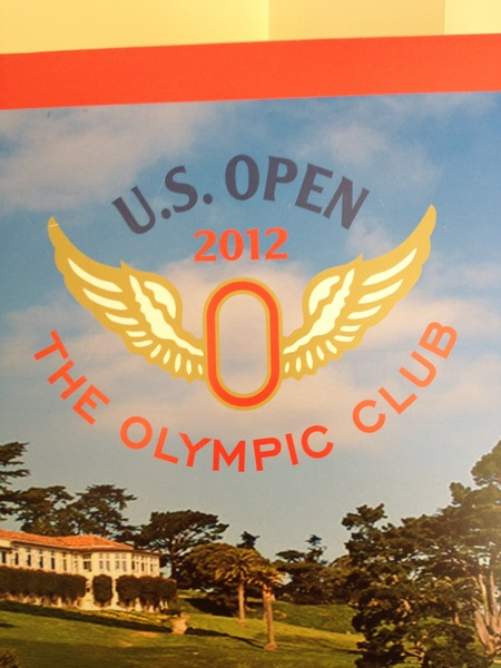 Love Olympic's logo - EVERYONE will need an angel looking over them this week. #Tough #USopen