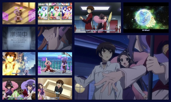 #KamiNomi ep8: I almost cried during the Char's Counterattack reference. #anime