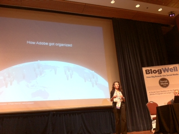 Adobe Gets Social Media Organized Hub & Spoke Style @MariaPoveromo #BlogWell